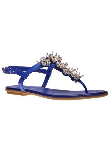 İnci Sandalet Mavi